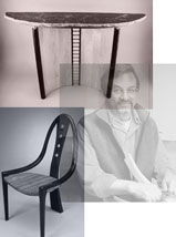 James Gentry Contemporary  Wood Furniture Artist